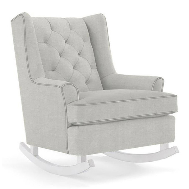 Best Chairs Paisley Swivel Glider in Sterling