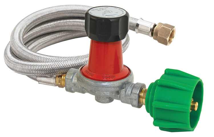 Bayou Classic 0-30 PSI Propane Regulator Kit