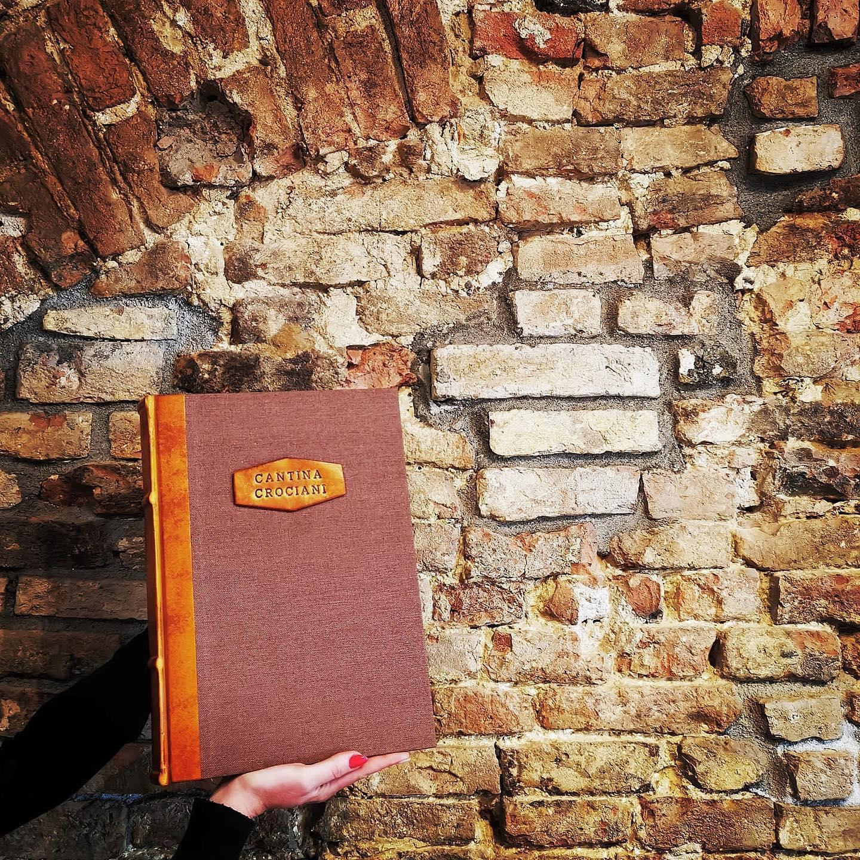 Libro delle Firme, Collezione Corium, Interno Cucito e Rilegato a mano