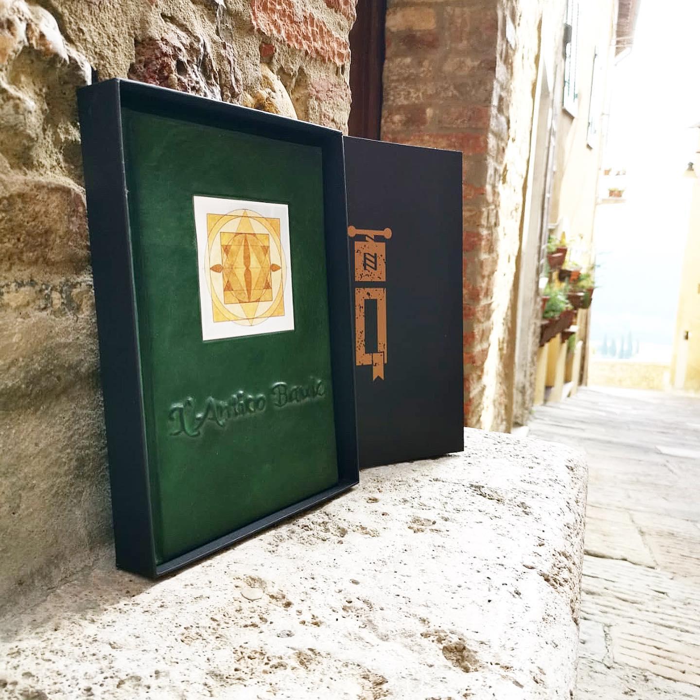 Libro Firma Grande con Finestra - L`Antico Baule