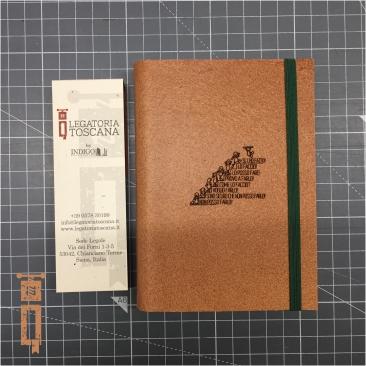 Agenda Traveler Custom con copertina incisa a laser