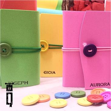 Diari - Mini | Neoprene Multicolore con Personalizzazione
