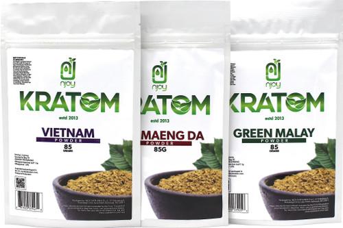 Njoy Kratom  85 grams . (SELECT PIC FOR MORE)