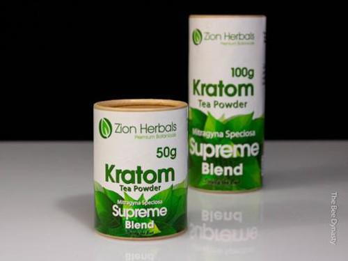Zion Herbals Supreme Blend Kratom Powder