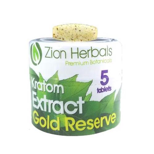 Zion Herbals Gold Reserve Extract Jar