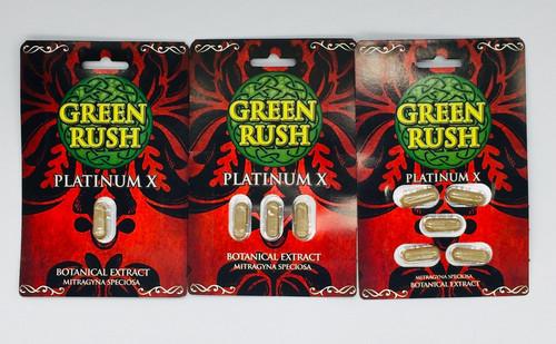 Green Rush Platinum X Botanical Extract