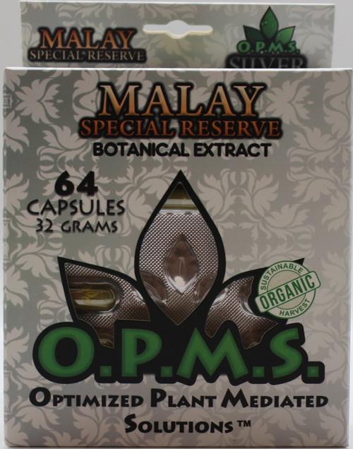 OPMS Box  Silver- 64 capsules (38.4G)