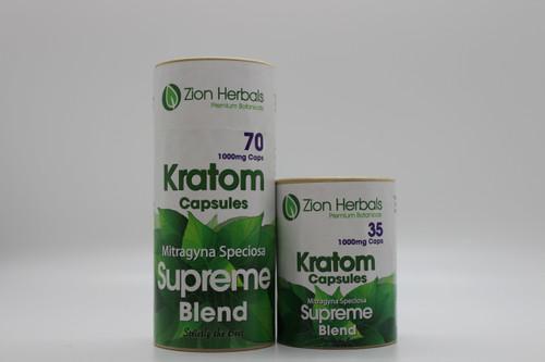 Zion Herbals Jumbo Capsule Supreme Blend 1000mg