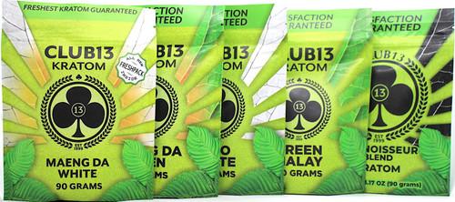 Club13 Kratom 90G Powder (SELECT PIC FOR MORE OPTIONS)