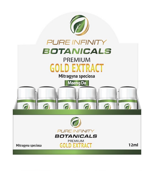 Pure Infinity Botanicals Premium Gold Kratom Extract Maeng Da (SELECT PIC FOR MORE OPTIONS)