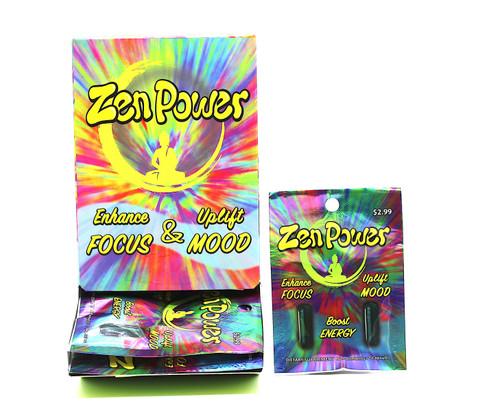 Zen Power Enhance Focus & Uplift Mood Display (24 pk of 2ct )