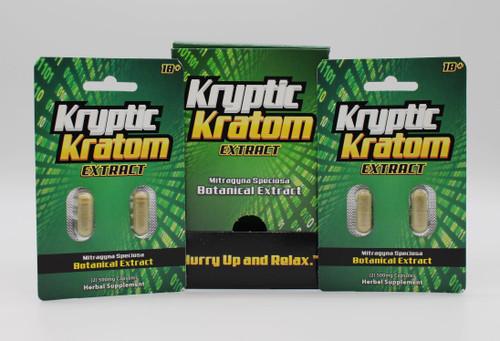 Kryptic Kratom Extract 2ct  (CASE of 12ct )