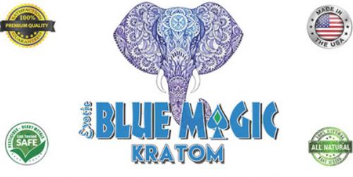 Blue Magic Kratom 2x 120 capsules ( Extract )