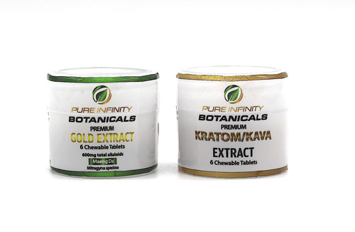 Pure Infinity Botanicals Premium Gold Extract Chewable Tablets 6ct