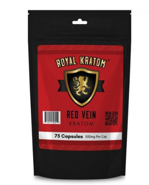Royal Kratom - 75 CNT Capsules ( New Edition )