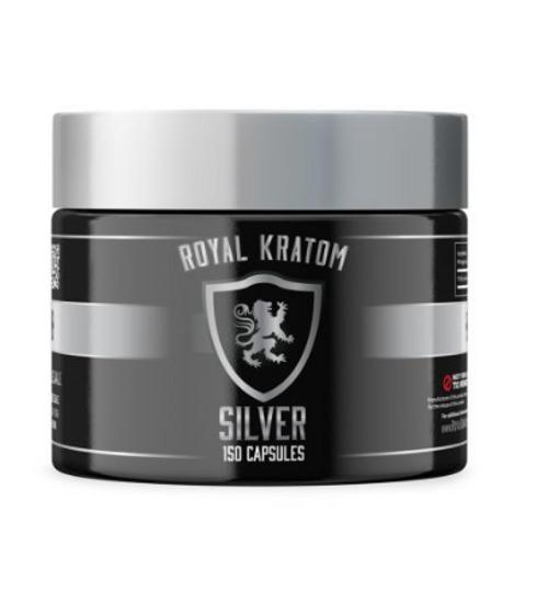 Royal Kratom - Silver Edition Capsules ( JAR )