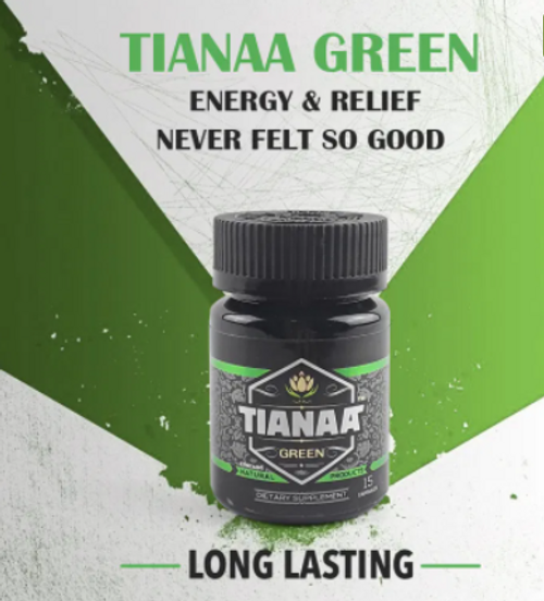 Tianaa - 15 Capsules Per Bottle  ( Focus & Energy )