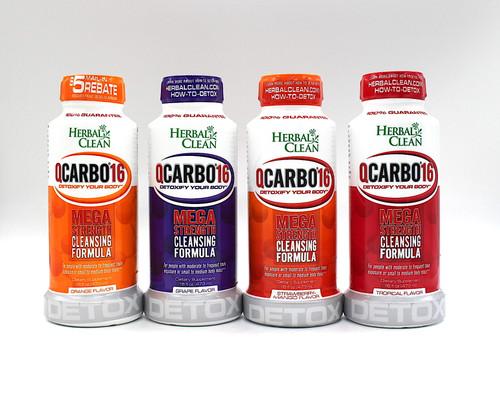 Herbal Clean Q Carbo 16 DETOX (16oz)