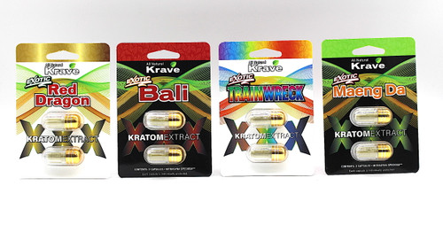 Krave EXTRACT 2ct CAPSULES Display of 6pack