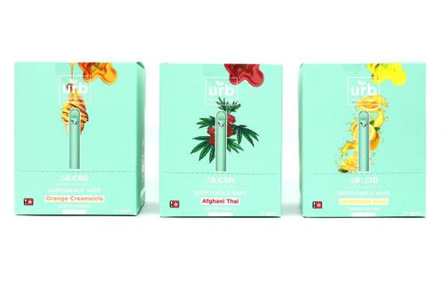 URB 1+ Gram Disposables DELTA 8 + CBN, Delta 10, or CBD PLEASE READ DESCRIPTION
