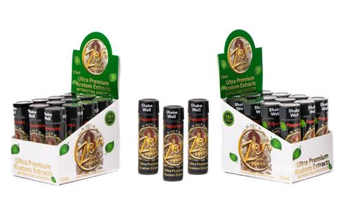 New Zen Ultra Premium Quality Kratom 15 ML Extract Shots