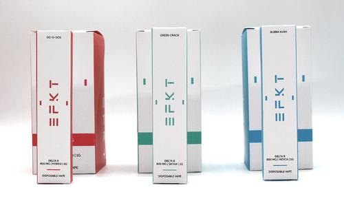 EFKT - Delta 8 Disposable ( Display of 10 / 1 Gram 800MG )