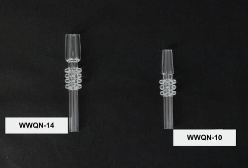 Quartz Clear Nectar Collector Straw / Nail
