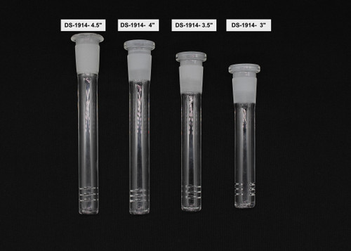 CLEAR DOWN STEM WITH FILTER ( Bundle of 5 )