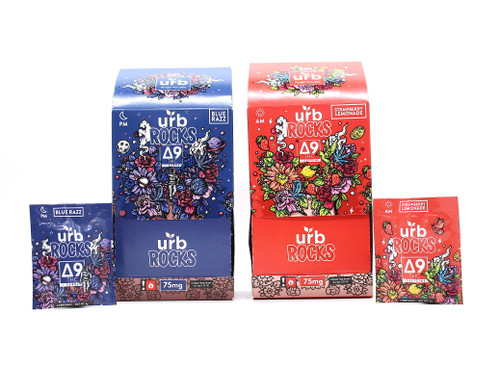 URB Rocks Candy Delta 9 Display of 30ct