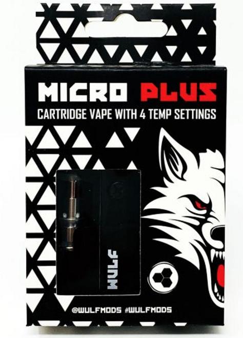 Wulf  Micro Plus Catridge Vape w/ 4 Temp Setting