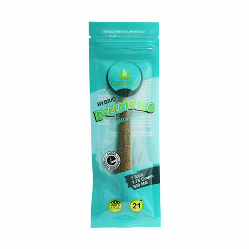 Curevana Delta 10 Pre-Roll Joint 500mg Display of 12 (1 joint per pack)