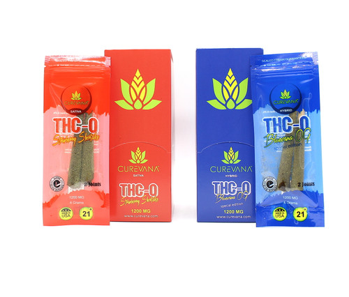 Curevana - THCO 1200MG Joint Pre-Rolls ( 12 Packs / 2 Pre-Rolls per pack )