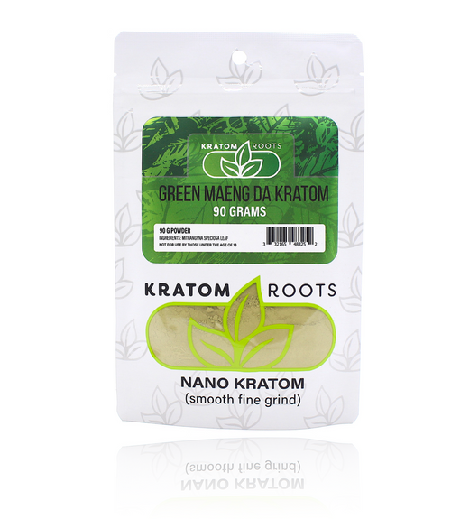 Kratom Roots - 90G Powder High Quality NANO Kratom ( Smooth Fine Grind )