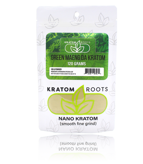 Kratom Roots - 120G Powder High Quality NANO Kratom ( Smooth Fine Grind )
