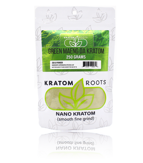 Kratom Roots - 250G Powder High Quality NANO Kratom ( Smooth Fine Grind )