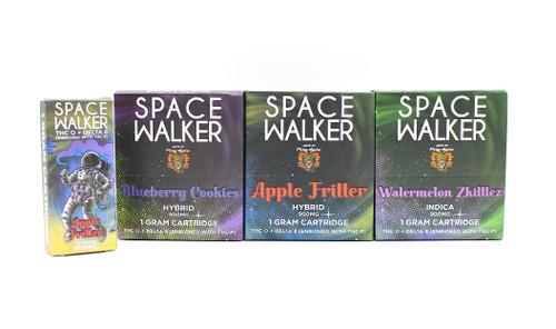 Space Walker - THCO + Delta 8 Cartridges (  1 Gram / Display of 6 )