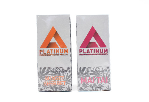 Platinum -  Delta 8 + THCP Disposable ( 1 ML / Display of 10 )