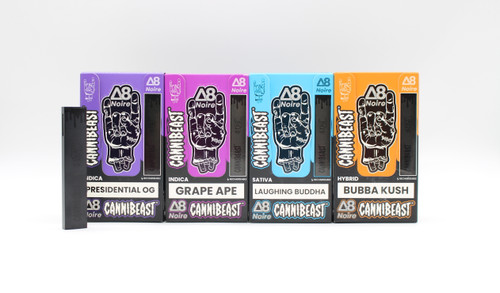 Cannibeast - Delta 8 Disposable Noire Edition ( 1,000MG / Display of 6 )