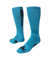 Legend 2.0 Crew Sports Socks - Turquoise Black