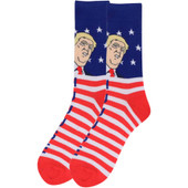 Men's Donald Trump This is Super Huuuge Socks - Red/White/Blue