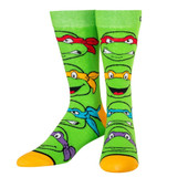 Men's Teenage Mutant Ninja Turtles Turtle Boys Crew Novelty Socks