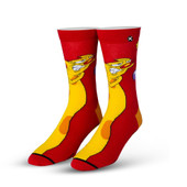 Men's CatDog Crew Novelty Socks
