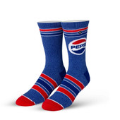 Men's Pepsi Crew Novelty Socks