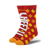 Men's Cheez It Crackers Crew Novelty Socks