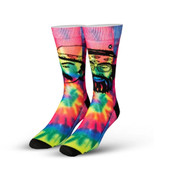 Men's Cheech & Chong Trippy Crew Novelty Socks