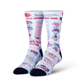 Men's Sushi Bar Crew Novelty Socks