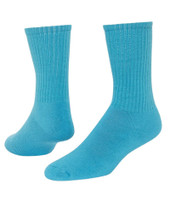 Solid Crew Sports Socks - Turquoise