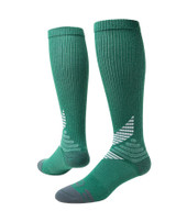 All Sport Knee High Performance Sports Socks - Green White