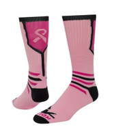 Fighter Crew Sports Socks - Pale Pink