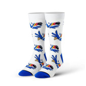 Men's Follow Thy Nose Crew Novelty Socks